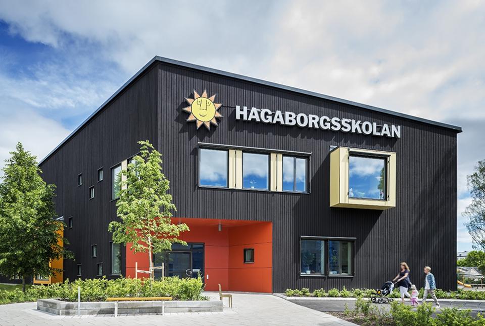 Hagaborgs skolan